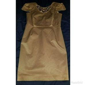 Very Cute, Cognac color Dress.